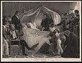 Mort de Napoléon (5 mai 1821) - peint par Steuben; gravé par Jazet. LCCN2004670553.jpg