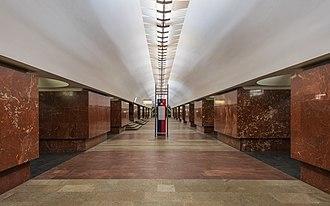 Ploshchad Ilyicha - Image: Mos Metro Ploschad Ilyicha asv 2018 01