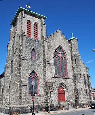 East Boston - Most Holy Redeemer Church was built in East Boston in 1844.