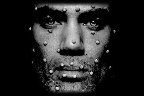Motion capture facial