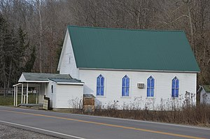 Washington Township, Lawrence County, Ohio - Mount Olive Community Church on State Route 93
