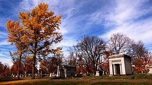 Mount Olivet Cemetery (Nashville) - Image: Mount Olivet Cemetery November