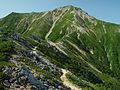 Mount Otensho from north 2002-08-22.jpg