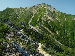 Mount Otensho from north 2002-08-22.jpg