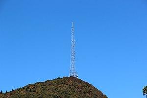 Mount Pisgah (mountain in North Carolina) - Image: Mount Pisgah, NC radio tower, October 2016