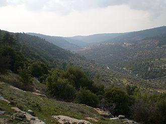 Jerash Governorate - Image: Mountains of Sakib 1