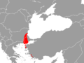Mouse-tailed dormouse range.png