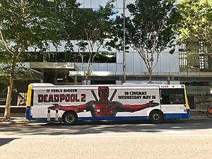Immagine Movie advertisement on bus in Brisbane, Australia.jpg.