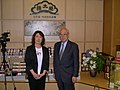 Mr. Hosoda and my partner Nobuko (3767882998).jpg