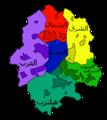 Muenster (Westfalen) Stadtbezirke-ar.png