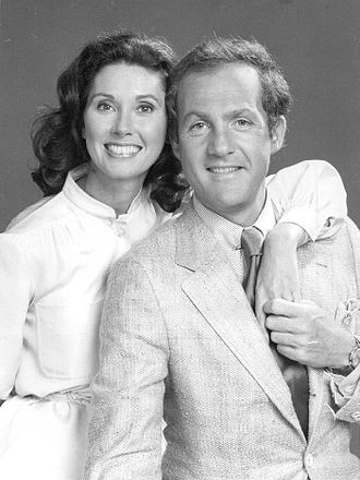 Lawrence Pressman - Lawrence Pressman with Mulligan's Stew co-star Elinor Donahue in 1977
