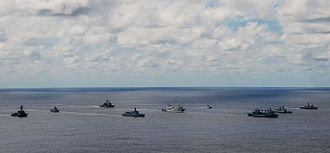 Exercise RIMPAC - Multinational task force in RIMPAC 2014.