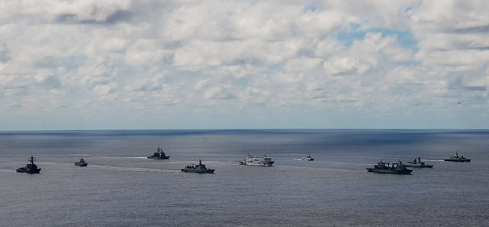 Multinational task force in the 24th biennial Rim of the Pacific