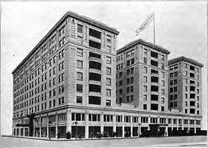 Multnomah Hotel - Multnomah Hotel circa 1920