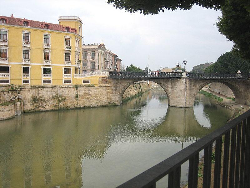 Španija  - Page 4 800px-Murcia_-_Puente_Viejo
