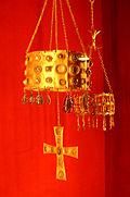 Вотивная корона вестготских королей. Музей Клюни, Франция