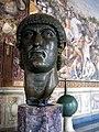 Musei Capitolini-testa bronzea di Costantino-antmoose.jpg