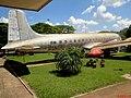 Museu Eduardo André Matarazzo - Bebedouro - Douglas DC-6A, c-n45528. PP-LFB da VASP exposto ao lado da entrada do museu. Começou a voar no Brasil em 1957 para o Loide Aéreo Nacional. Em 1962, foi tran - panoramio.jpg
