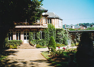 Maurice Leblanc - Leblanc's house in Étretat, today the museum Le clos Arsène Lupin.