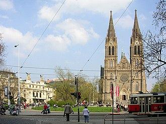 """Prague 2 - Náměstí Míru (""""Peace Square"""")"""