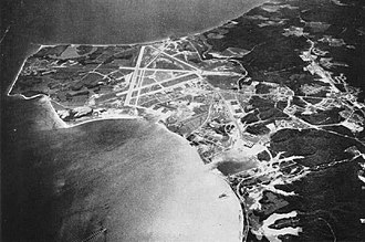 Naval Air Station Patuxent River - Aerial view of NAS Patuxent River in the mid-1940s