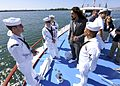 NFL players tour the USS Arizona Memorial in Pearl Harbor 160126-N-FK070-102.jpg