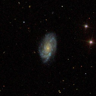 NGC 124 Spiral galaxy in Cetus