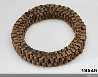 History of beer - Yeast ring used by Swedish homebrewers in the 19th century to preserve the yeast between brewing sessions.