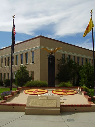 New Mexico National Guard - Memorial to the 200th Coast Artillery of the New Mexico National Guard