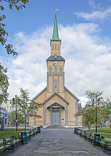 Tromsø Cathedral Church in Troms, Norway