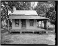NORTH (FRONT) ELEVATION - Charity House, State Route 32 and County Route 1 vicinity, Memphis, Pickens County, AL HABS ALA,54-MEM,2-1.tif