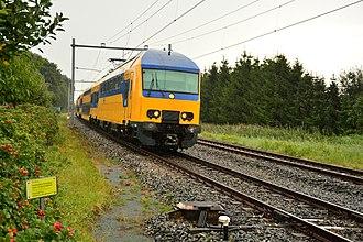 NS DD-AR - NS DDZ (NID) 7534 near Teuge, Gelderland