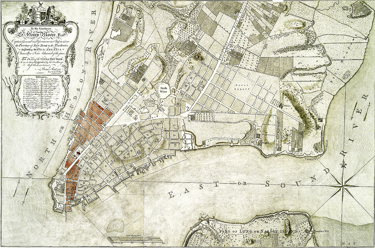 Great Fire Of New York 1776  Simple English Wikipedia
