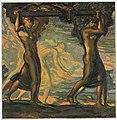 Nach der Jagd. Gemälde von Walter Ditz, 1922.jpg