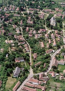 Nagybörzsöny Village in Central Hungary, Hungary