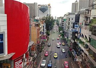 Nana, Bangkok road intersection in Bangkok, Thailand