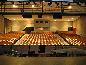 Etobicoke School of the Arts - The Nancy Main Auditorium.