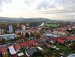 Napajedla, Chmelnice, letecký pohled.jpg