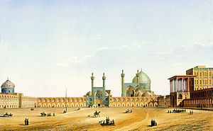 Pascal Coste - Pascal Coste's depiction of Naqsh-e Jahan Square, Isfahan
