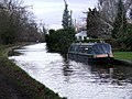 Narrowboat on the canal - geograph.org.uk - 126316.jpg