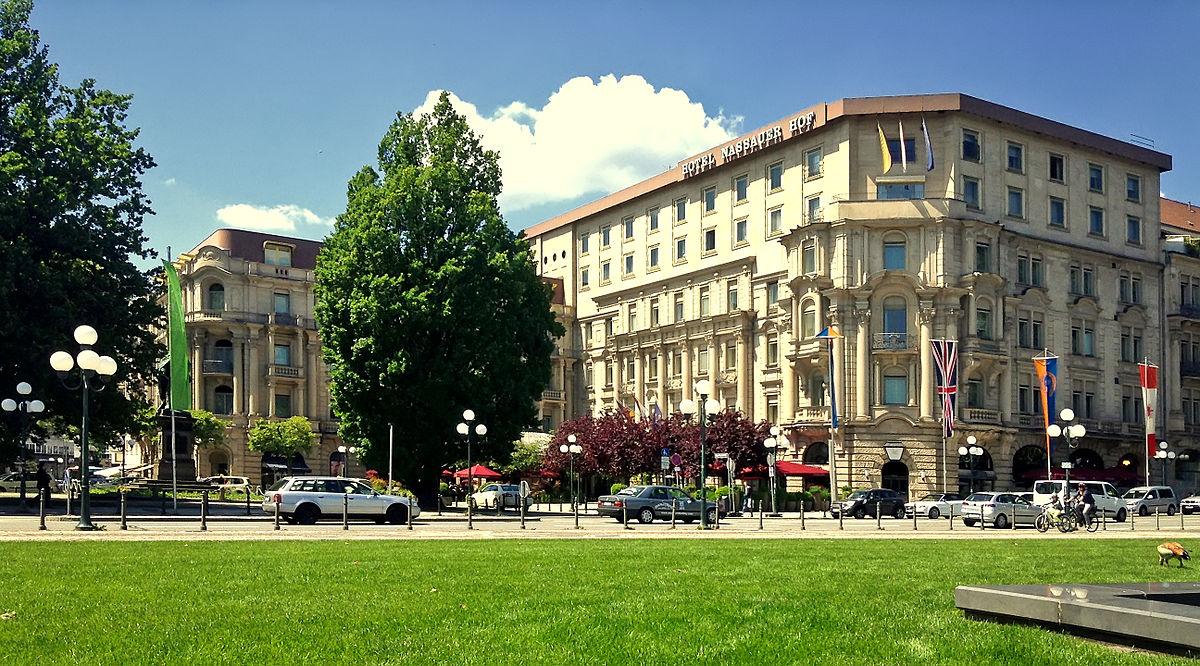 Hotel Nassauer Hof Wiesbaden Germany