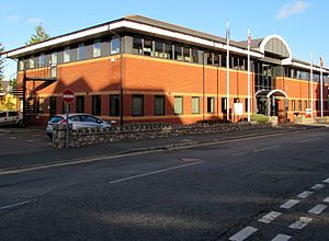 National Assembly for Wales - National Assembly building in Colwyn Bay