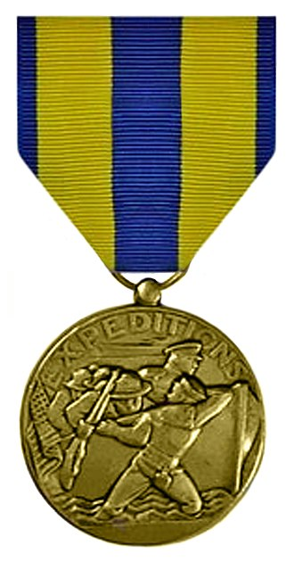 Awards and decorations of the United States Department of the Navy - Image: Navexpmed front