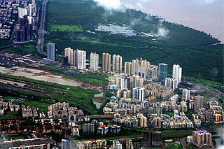 Newly planned township of Mumbai by CIDCO in India