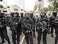 Navy PASKAL frogman strike team members arms with HK firearms during 57th NDP.JPG