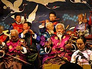 Chinese Naxi musicians