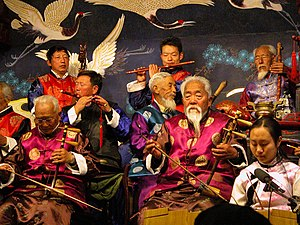 Music of Yunnan - Nakhi musicians