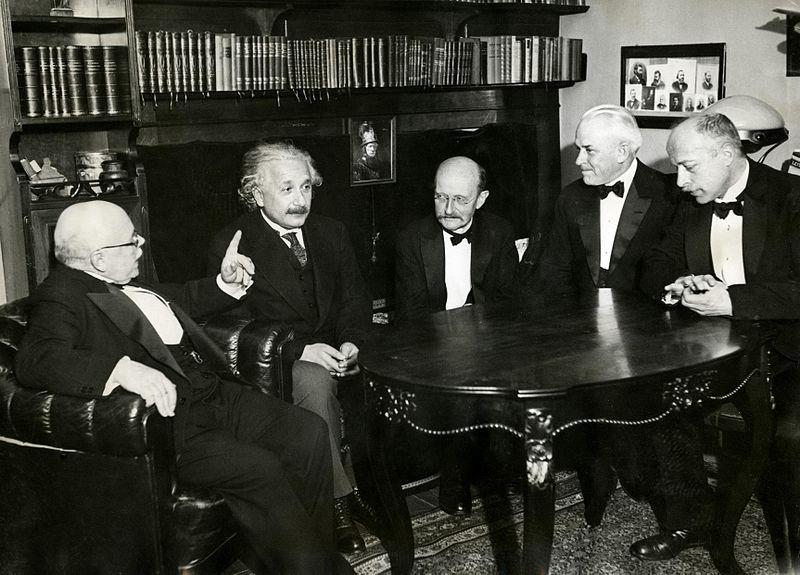 File:Nernst, Einstein, Planck, Millikan, Laue in 1931.jpg