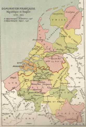Forêts - The north-western departments of the empire in 1812