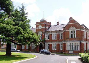 Netherne Hospital - The former administration block of Netherne Hospital in 2007